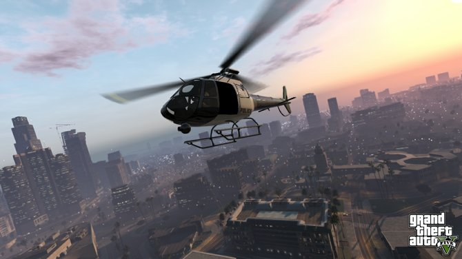 """""""Grand Theft Auto V"""" is a triumphant return after a few missteps in the series' fourth installment."""