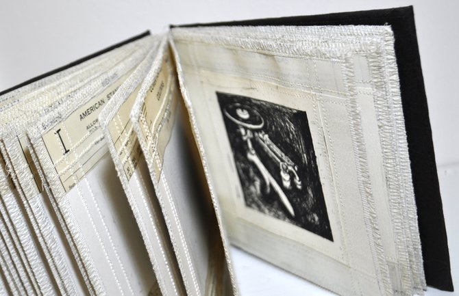 Book arts incorporate multiple artforms and media.