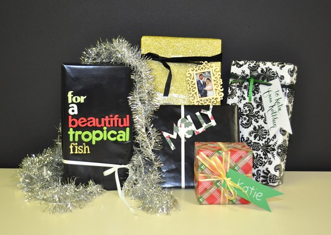 Beautiful gift wrap might seem like an elusive art, but if you want to impress with minimal effort, I believe it really comes down to a couple things: nice ribbon and a great gift tag.