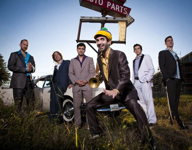 Funk-rock band Flow Tribe brings its New Orleans-flavored sounds to Jackson Dec. 6.
