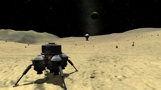 """Kerbal Space Program"" combines careful engineering with the simple pleasure of exploding little green men."