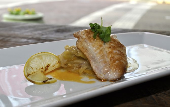 La Finestra serves Italian classics as well as more adventurous specials, such as sautéed sheepshead (a type of fish) with braised leeks.
