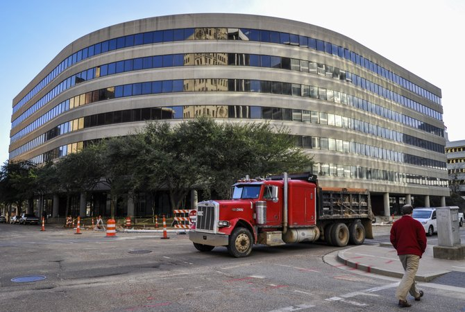 The Landmark Building, which has remained vacant for two years since tenant AT&T left in 2011, could have a new owner by summer.