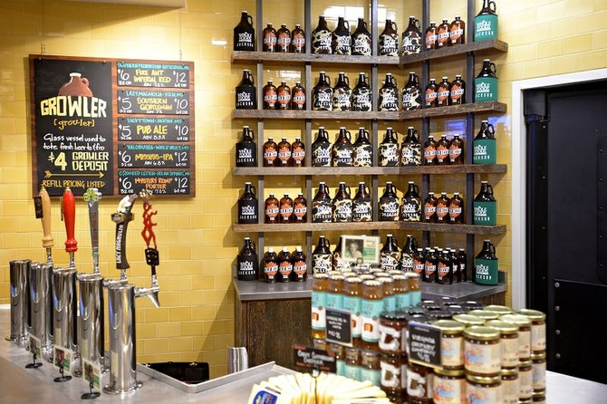 Whole Foods Growler Station