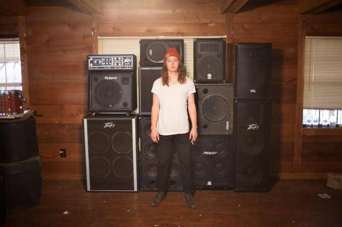 Oxford-based garage-rock outfit Bass Drum of Death performs at Martin's Restaurant and Bar Feb. 8.