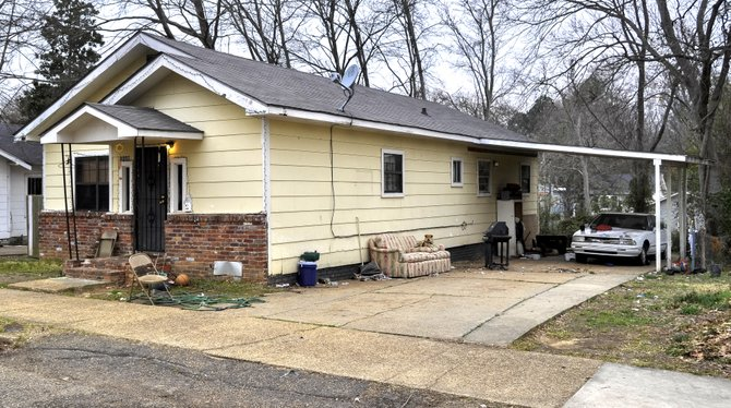 This unassuming house near Jackson State University served as the headquarters of the Republic of New Afrika in 1971. One morning in August that year,  Jackson police and FBI agent raided the house without notice, resulting in a shootout and the death of a JPD officer, William Skinner.