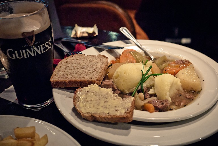 Beef and Guinness stew is the perfect Irish dish, in this author's humble opinion.