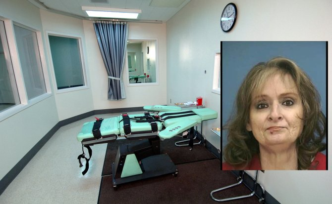 "The death sentences of Michelle Byrom (pictured) and Charles Crawford have put Mississippi in the midst of the controversy over what constitutes ""cruel and unusual"" in executions."