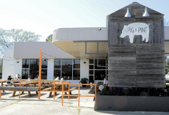 Fondren's newest restaurant, the Pig & Pint, opened last week.