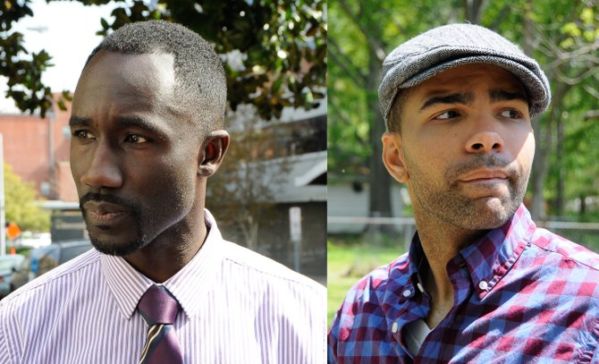 Tony Yarber (left) and Chokwe Antar Lumumba (right)
