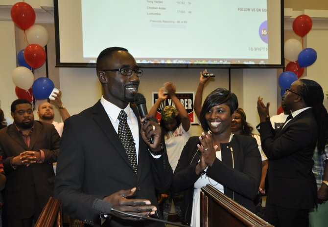 Information from the city clerk's office shows that Yarber captured 53.7 percent of more than 38,000 ballots submitted to Lumumba's 46 percent. Overall turnout was also higher in last night's runoff than in the April 8 election, with an additional 2,237 people participating; Yarber's margin of victory was 2,424 more votes over Lumumba.