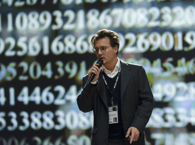 """Transcendence,"" starring Johnny Depp, explores what it means to be human."