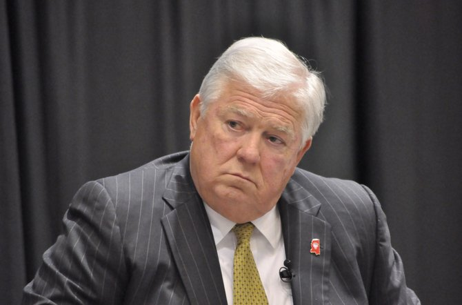 Haley Barbour, a Republican, sparked an uproar when he pardoned nearly 200 people as his second term was ending in January 2012. The total included four convicted murderers and a robber who worked as inmate trusties at the Governor's Mansion.
