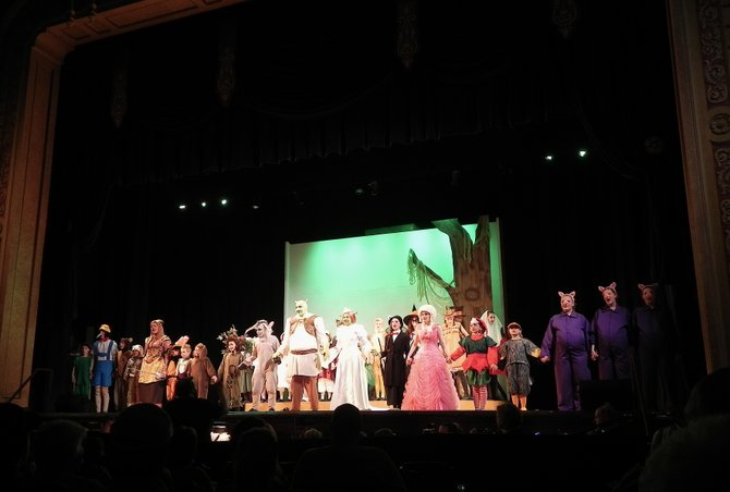 "One of the most beloved animated characters of the last decade comes to life onstage in ""Shrek the Musical"" at New Stage Theatre."