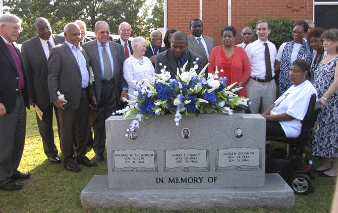 Architects of Freedom Summer, religious leaders and family members of the murdered men gathered at Mt. Zion in Philadelphia on June 14 to honor them.