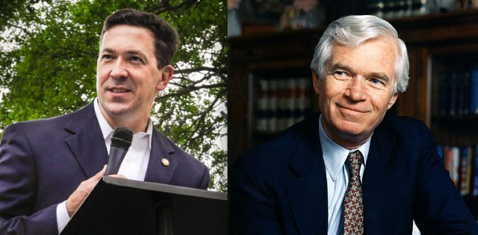 Over the weekend, Chism Strategies—a Democratic firm that has commissioned several polls since the June 3 primary election that resulted in a runoff—unveiled its latest survey of Republicans that shows Chris McDaniel (left) leading Thad Cochran (right) by eight points.