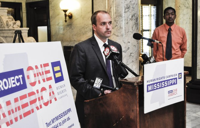 HRC announced Tuesday that United Methodist pastor Rob Hill will lead as HRC Mississippi's state director.