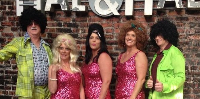 """Fringe Dinner Theater will perform """"Murder in the Key of Motown"""" at Hal & Mal's on July 31, Cool Water Catering and Events Aug. 12, Biaggi's Ristorante Italiano August 18 and Rossini Cucina Italiana Aug. 28."""