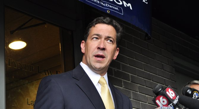 State Sen. Chris McDaniel's campaign for U.S. Senate told press today that McDaniel has made a challenge to the election results of the June 24 runoff against U.S. Sen. Thad Cochran.