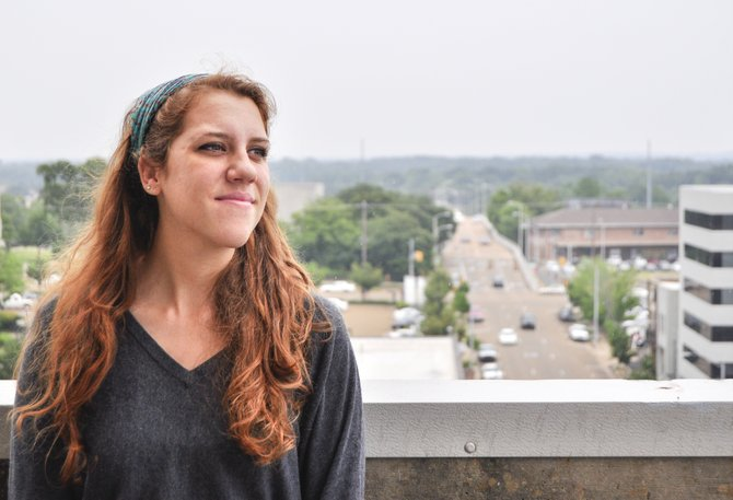 Liz Allen, a rising senior at Millsaps College, appreciates the vibrant community and people in Jackson.