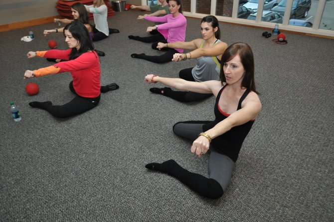 The small moves done in Pure Barre are intense but effective.