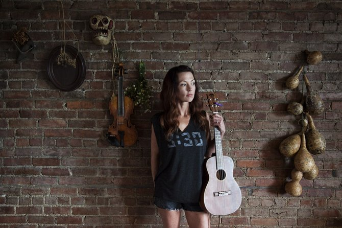 Fiddler Amanda Shires' training began in her musical hometown and continues with some friendly competition with her husband, songwriter Jason Isbell.