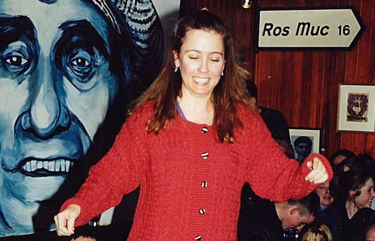 Catherine Bishop got into Irish dancing after seeing the Jackson Irish Dancers perform an Irish céilí.