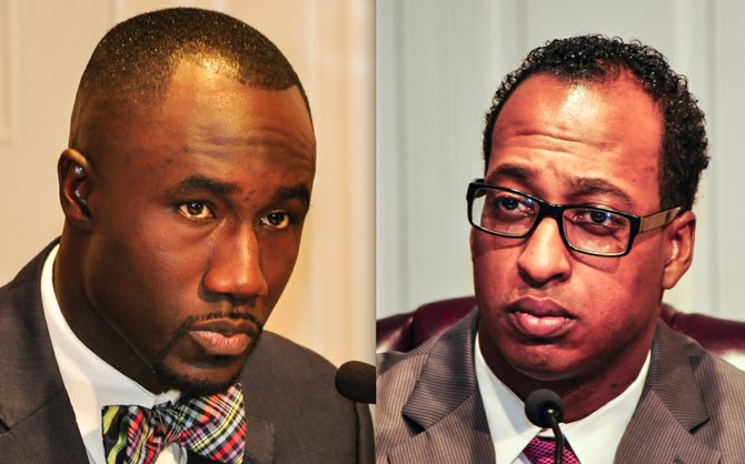 Mayor Tony Yarber and council members like Ward 2 Councilman Melvin Priester Jr. (right) came to loggerheads over several issues, including last-minute additions and the mayor's reticence in implementing a $120,000 pay increase for city workers earning minimum wage even as he is increasing pay for three city departments by almost $500,000.