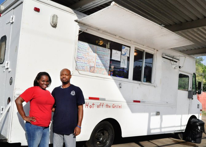 Deandrea Moore And Her Husband, Omario, Opened A Food Truck As A Way To
