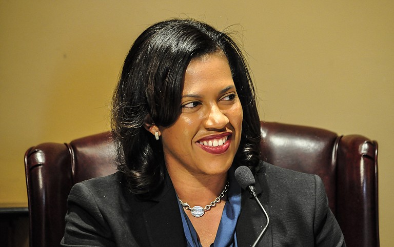 Mayor Tony Yarber and Public Works Director Kishia Powell (pictured) want the council to approve a contract with Charlotte, N.C.-based Raftelis Financial Consultants Inc. valued at $200,000.