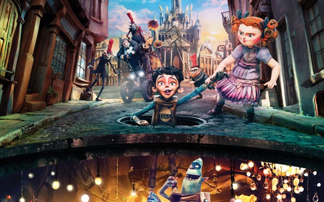 "Laika's ""The Boxtrolls"" is a beautifully made children's film that tackles adult topics such as fear and prejudice."