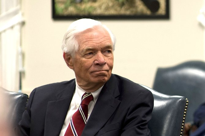 Republican Sen. Thad Cochran told black voters Thursday that when he first ran for Congress in 1972, Mississippi was in a period of fear and uncertainty because race relations were changing.