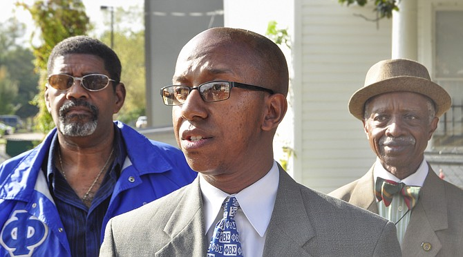 Mac Epps, president and community organizer of Mississippi MOVE, highlighted the importance of the shelters and urged the community to help in any way, from donating to helping MS MOVE raise funds.