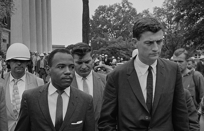 John Doar Right With James Meredith