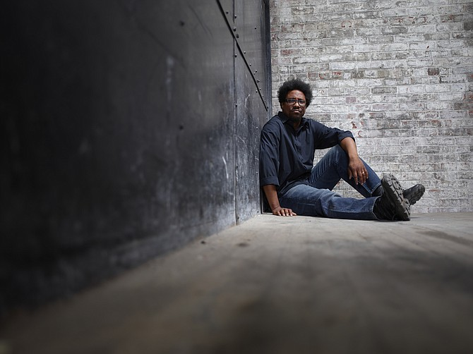 Stand-up comedian W. Kamau Bell brings his social and pop-culture-infused humor to Duling Hall, Thursday, Jan. 8. Photo courtesy Matthias Clamer
