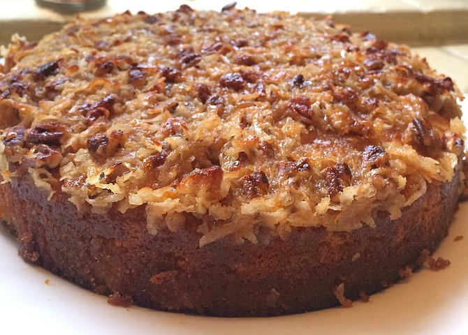 With recipes such as this morning cake, your brunch will be a proverbial piece of cake. Photo courtesy Patty Limatola-Tanenbaum