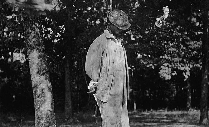 In total, EJI documented 3,959 lynchings of African Americans in twelve Southern states starting at the end of Reconstruction, in 1877, through 1950, which the organization estimates is approximately 700 more lynchings in these Southern states than ever reported. Photo courtesy Library of Congress