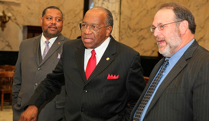 Sen. David Jordan, D-Greenwood, said African American lawmakers are  willing to block future appointments to the state college board unless Gov. Phil Bryant addresses their concerns about the board's lack of diversity. Photo courtesy Amile Wilson/File Photo