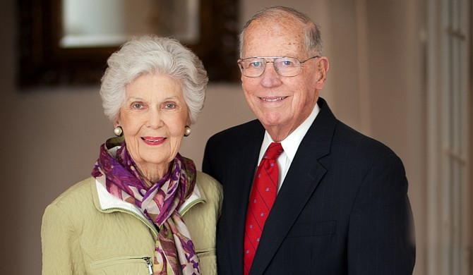 Elise Winter (left) and William Winter (right) Photo courtesy Ole Miss Photography William Winter's Office