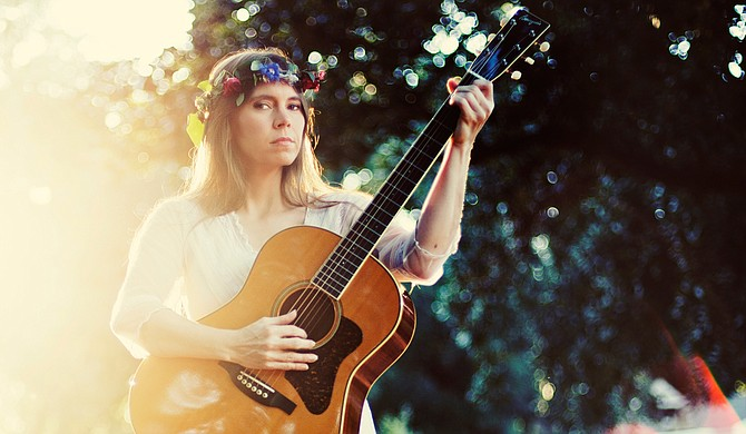 Bronwynne Brent grew up in a musical household in the Mississippi Delta, and she incorporates many elements of American roots music into her songs. Photo courtesy Julia Bailey