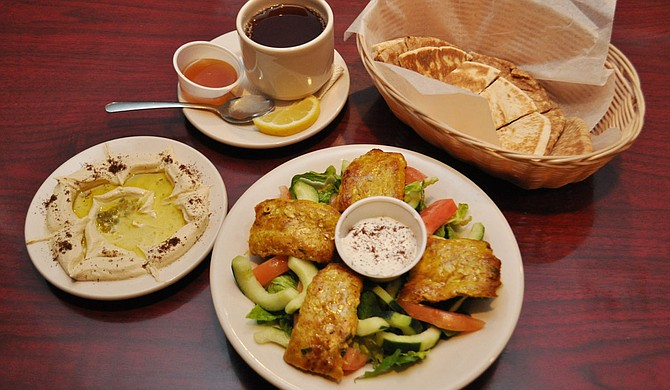 Local restaurants such as Aladdin Mediterranean Grill have healthy food options for Jacksonians.