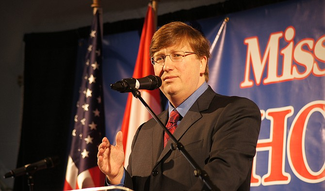 Lieutenant Governor Tate Reeves released a statement today on the Mississippi state flag. Photo courtesy R.L. Nave/File Photo