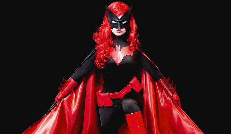 Cosplayer Cami Roebuck has created costumes such as Batwoman. Photo courtesy Larry Gordon