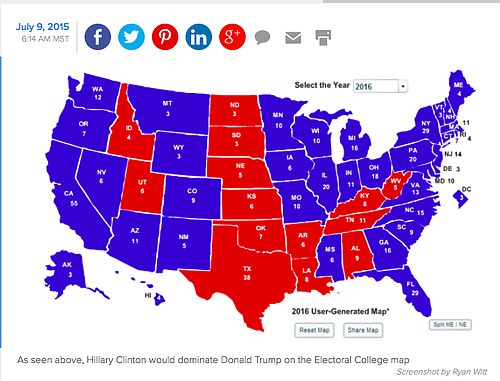 Trump Support By State Map.Clinton Takes Mississippi In 2016 Probably Against Trump At Least