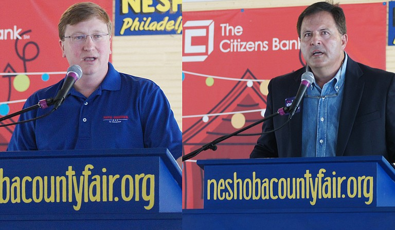 Incumbent Republican candidate Tate Reeves (left) will face Democratic challenger Tim Johnson (right) in the November election for lieutenant governor. Arielle Dreher