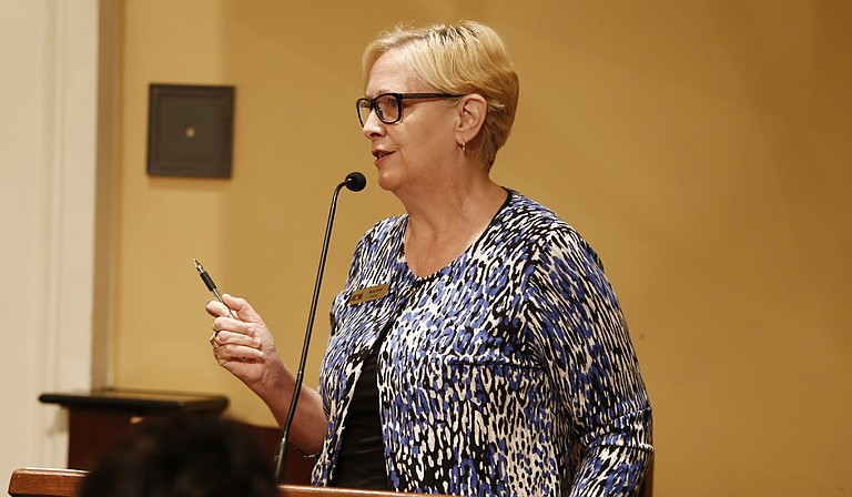 Beth Poff, executive director of the Jackson Zoo, doesn't want any additional funding from the city but says keeping the same level of funding will protect the park's accreditation.