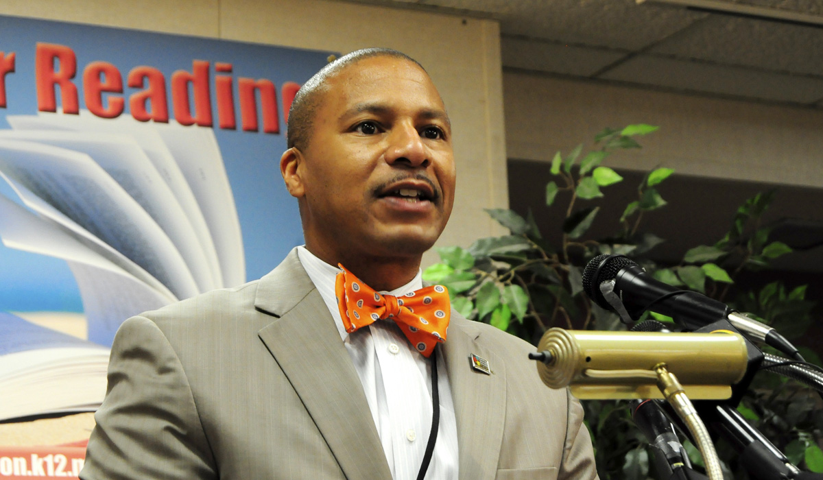 Jackson Public Schools Superintendent Cedrick Gray plans to lift his district's grade from a D to an A in three years, he says. Trip Burns/File Photo