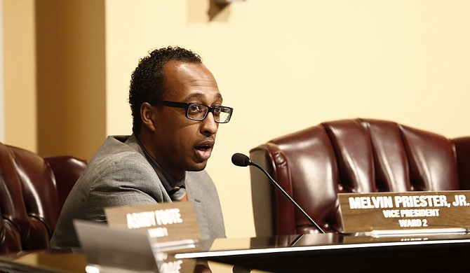 Ward 2 Councilman Melvin Priester Jr. was the lone yes vote in favor of the Denali/Garrett proposal.