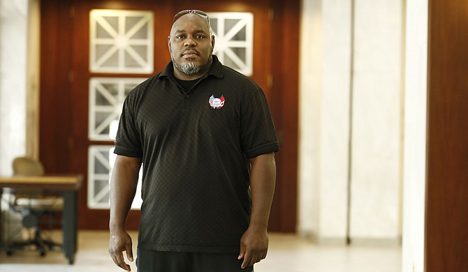 Alphonso Burns Jr., 40, has been the president of JATRAN's bus drivers' union for six years and is fighting proposed changes to his union's collective-bargaining agreement.