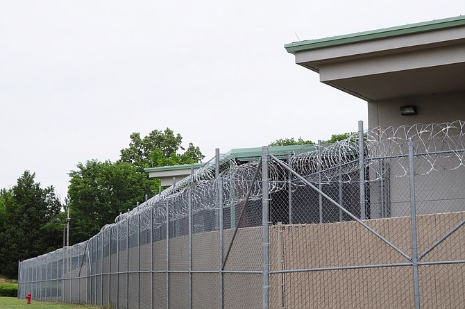 A lawsuit alleges that prisoners are sitting in the Raymond Detention Center for long periods because they can't afford to pay court debts for traffic violations and other misdemeanors. Trip Burns/File Photo